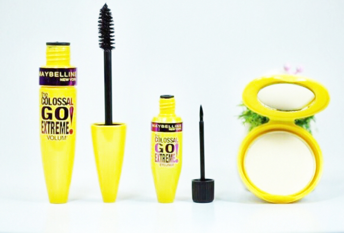 Bộ Make Up 3 Trong 1  Maybelline Colossal Extreme Italia